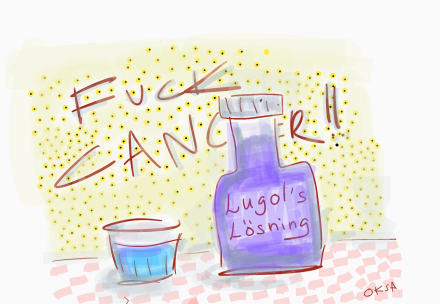 Är Lugols Lösning lösningen